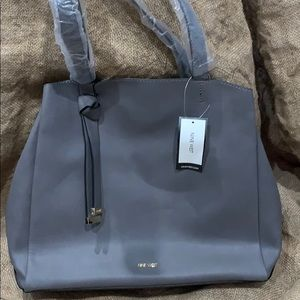 Grey Nine West bag brand new with tags